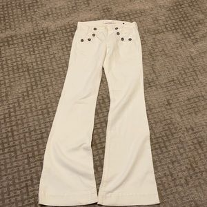 Freedom of Choice white flare jeans